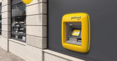 Geldautomaat wordt Geldmaat.